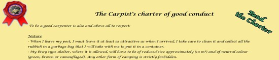 The Carp Fisher's Charter
